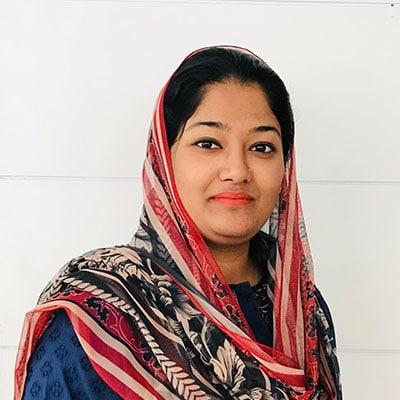 Saadia Shahzad - Recovery Officer - Deinfa